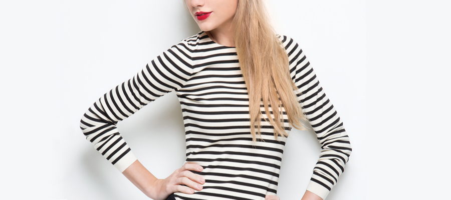 6 ways to look slim with stripes
